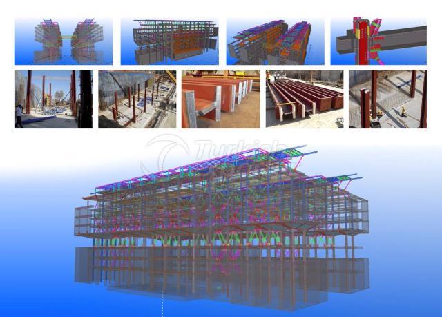 Lebanon Univercty steel building