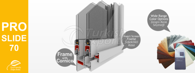 PROSLIDE-70 Series PVC Profiles