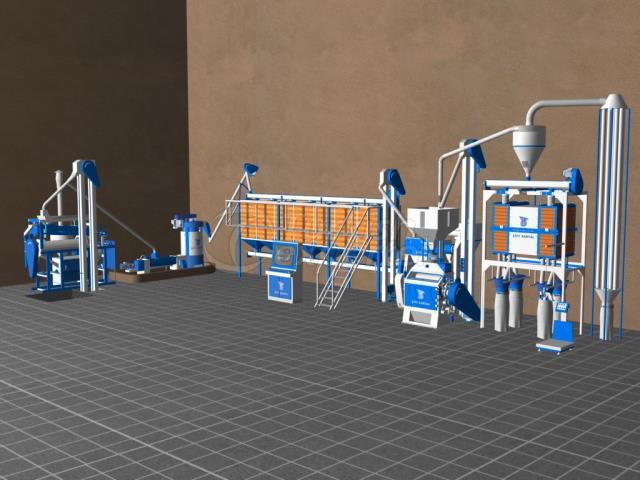 Mini Un Fabrikaları CK11