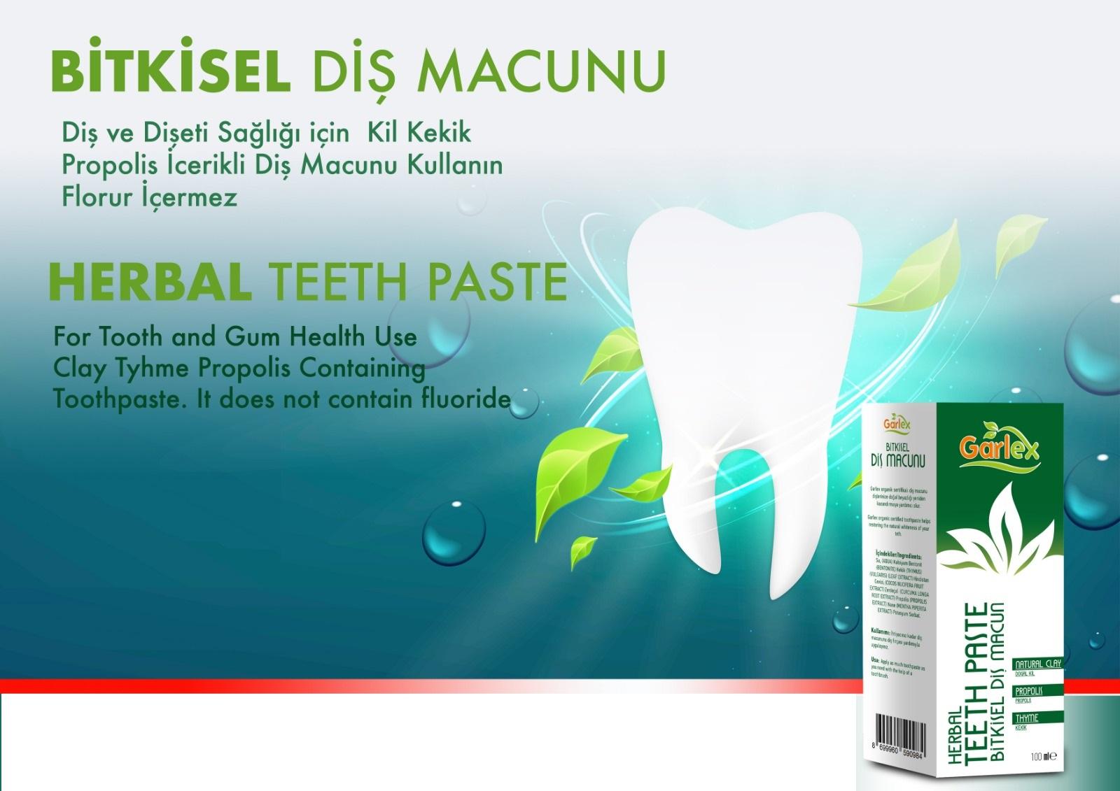 herbal teeth paste