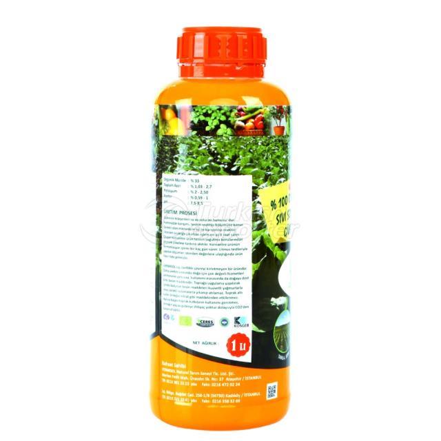 Liquid Worm Fertilizer