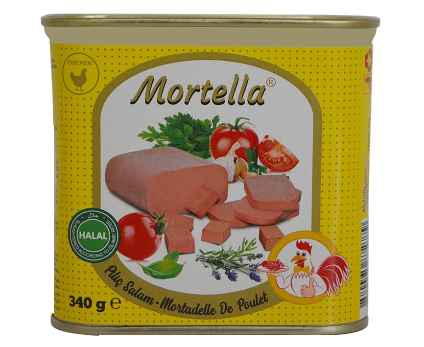 курица консервированная с мортеллой