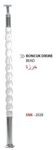 Pleksi Dikme / SNK-2028 / Boncuk