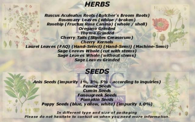 Medicinal and Aromatic Herbs