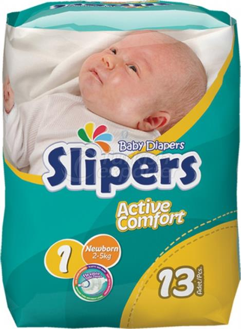 Baby Diapers Slipers  -75874