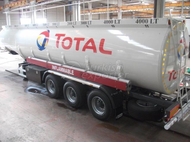 36000lt Fuel Tank Semi Trailer