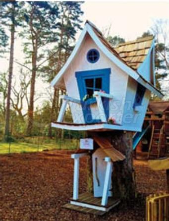 OE 4000 Wooden Playhouse