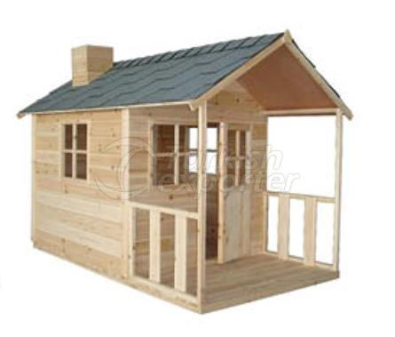 OE 4040  Wooden Playhouse