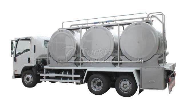 On-Vehicle Milk Cooling Tank