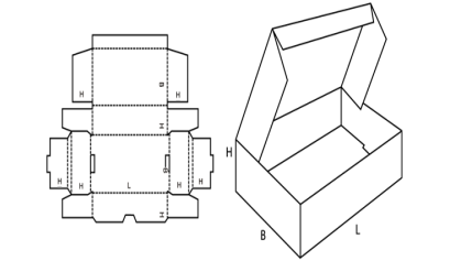 Foldable Boxes FEFCO 429