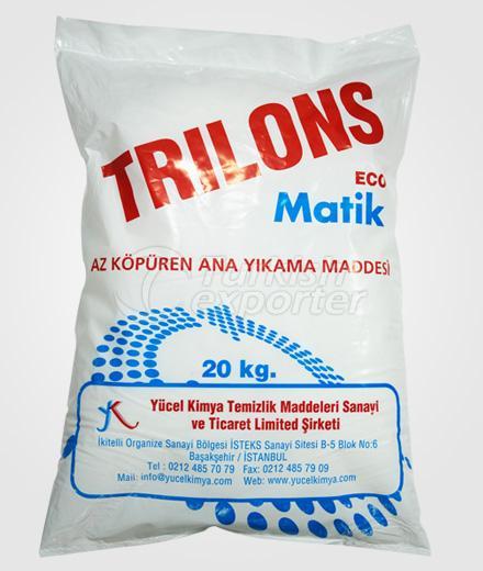 Laundry Detergents Trilons 20 kg