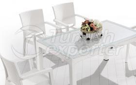 Комплект садового дивана -Rattan