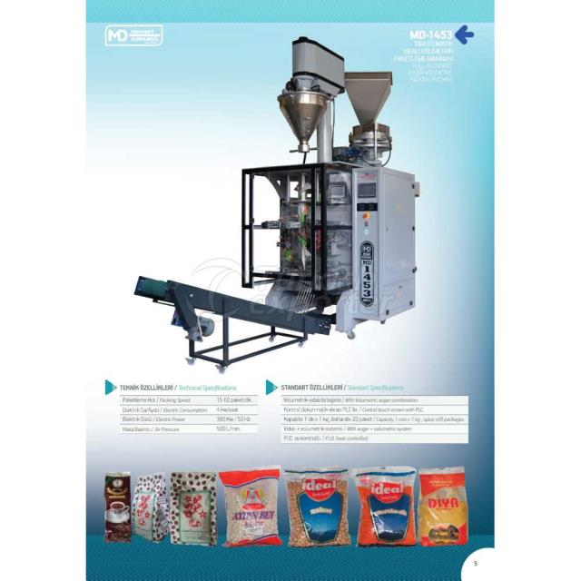 MD-1453 FULL AUTOMATIC AUGER-PACKING MACHINE