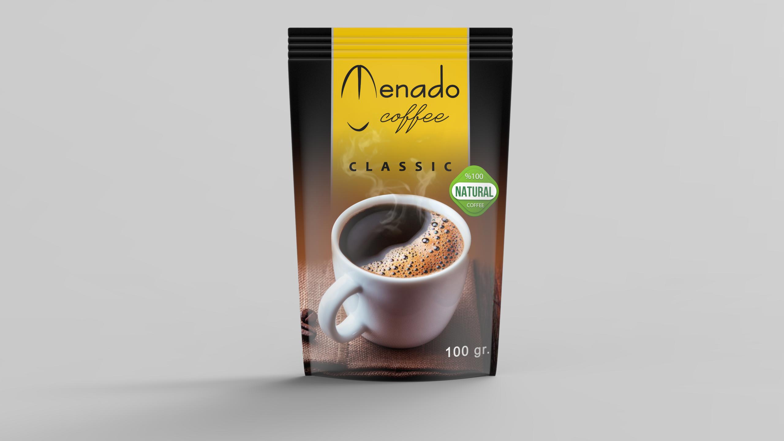 Menado – Quick Coffee Classic - 100gr.