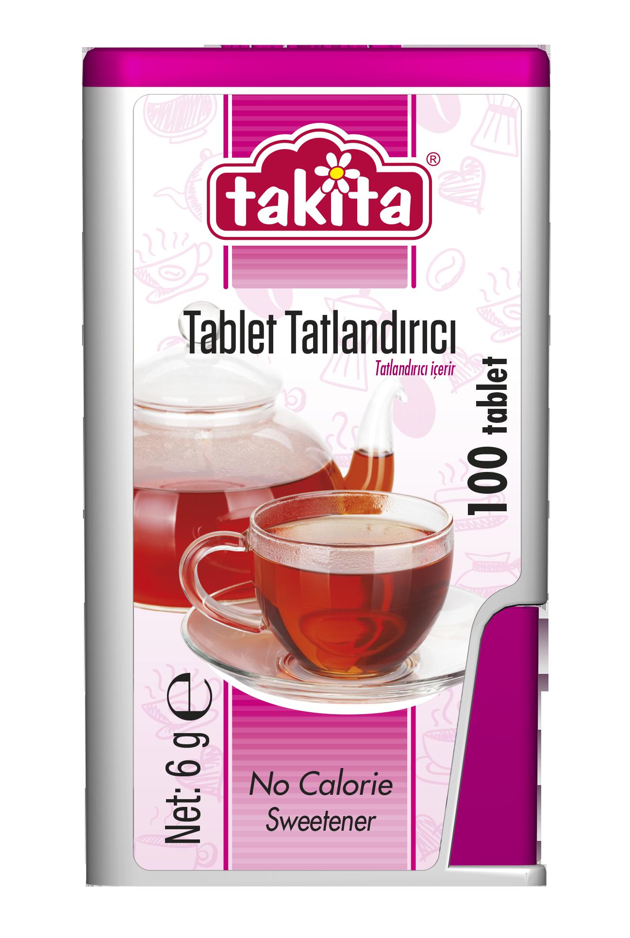 Takita Tablet Sweetener with Saccharine