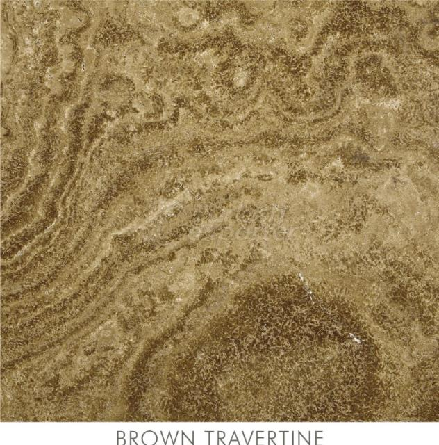 Travertine - Brown