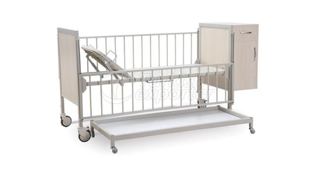 Pediatric Bed With Cabinet MYS-512N