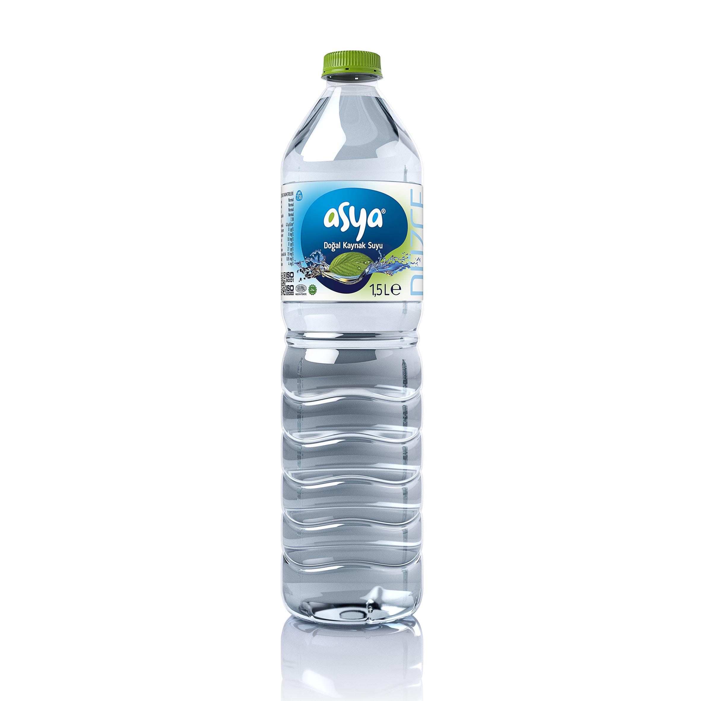 Pet Şişe Su 1.5 Litre