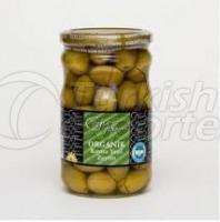 Cracked Green Olives