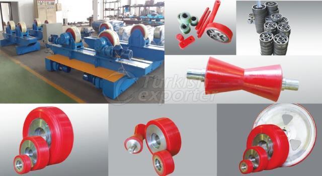 Polyurethane Wheel and Spare Parts