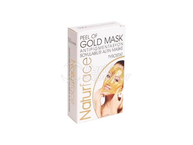 Peelable Gold Mask Disposable 15 g X 5 Pieces