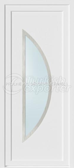Inox PVC Door Panels 20004