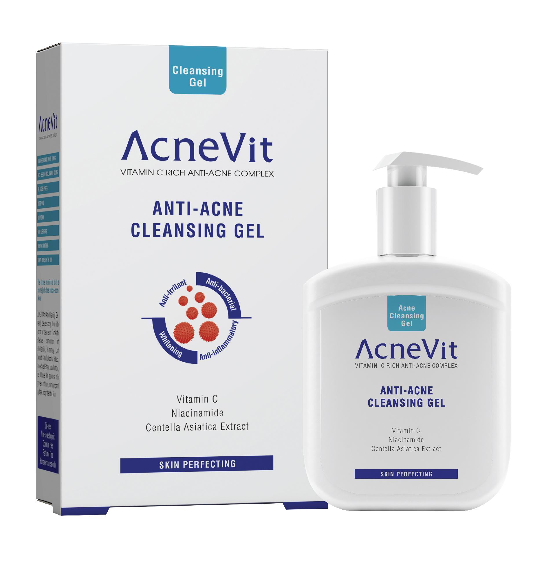 ACNEVIT ANTI-ACNÉ GEL NETTOYANT  200 ML