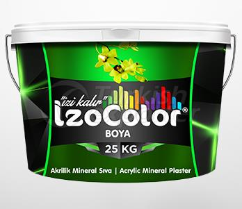 Acrylic Colored Mineral Plaster
