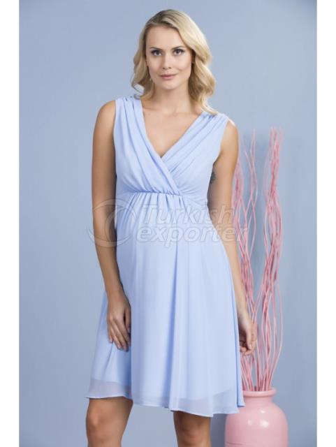 Kruvaze Collar Mini Maternity Clothes Abi Dress