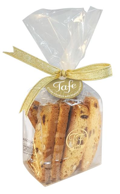 Biscoitos Tafe com Amêndoa e Passas