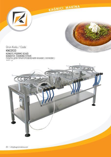 Kunafa cooking stove