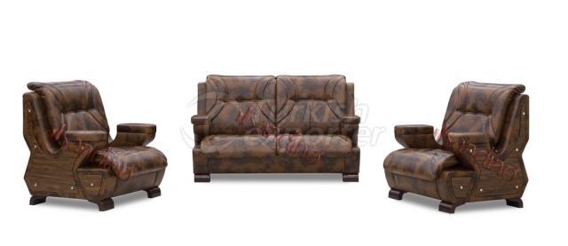 Hunkar Sofa Set