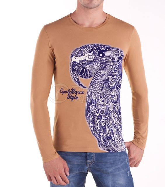 Mens Tops - T-shirts C-5380