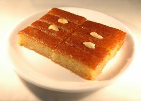 Spongy Cake Dessert