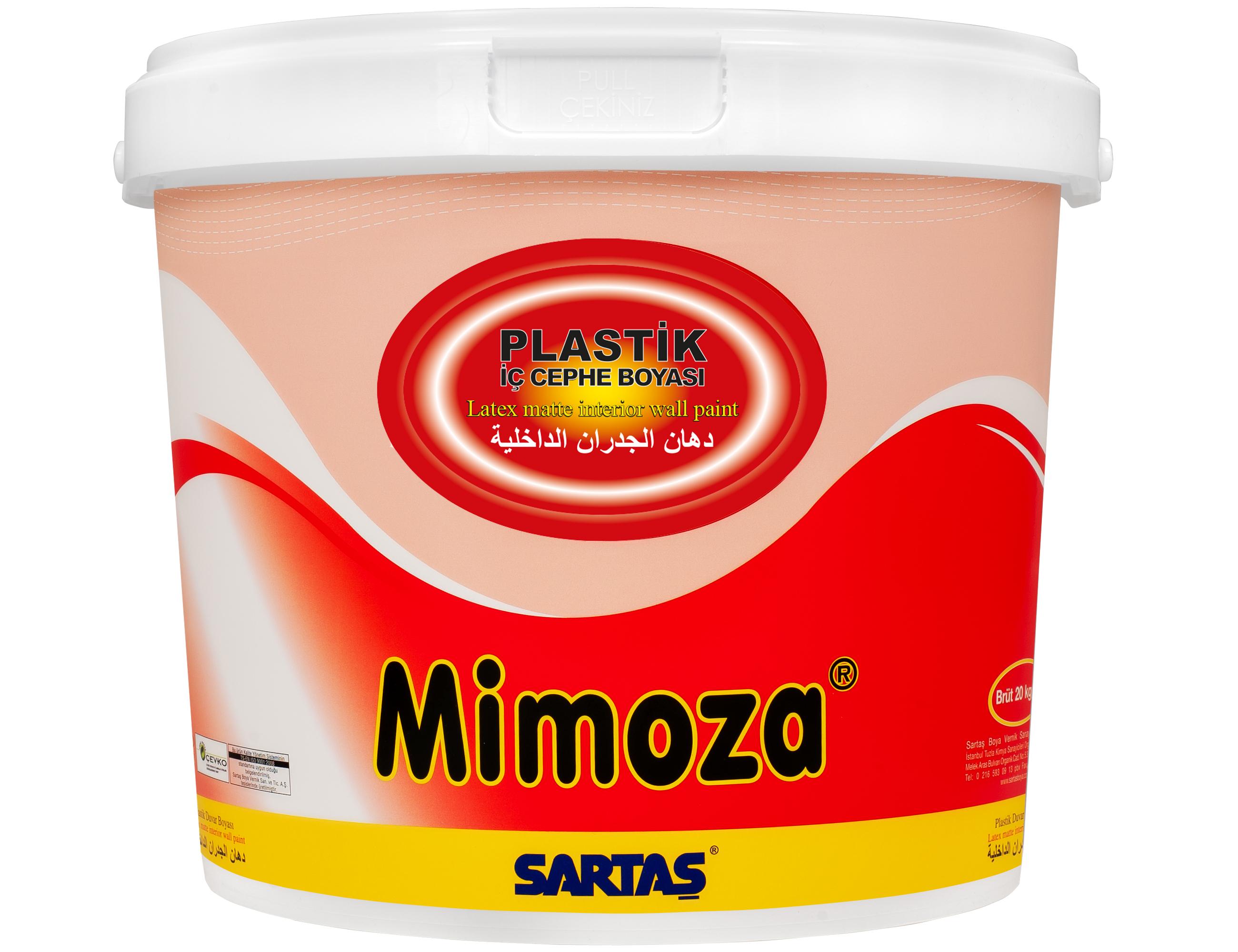MIMOZA FLAT LATEX MATT INT. ПОКРАСИТЬ