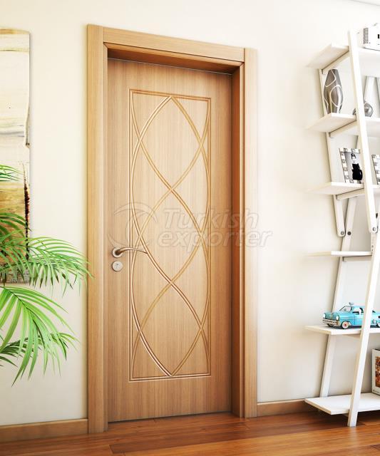 PVC INTERIOR DOOR * WPC FRAME