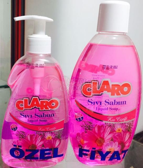Claro Liquid Soap 400ml-750ml Flower
