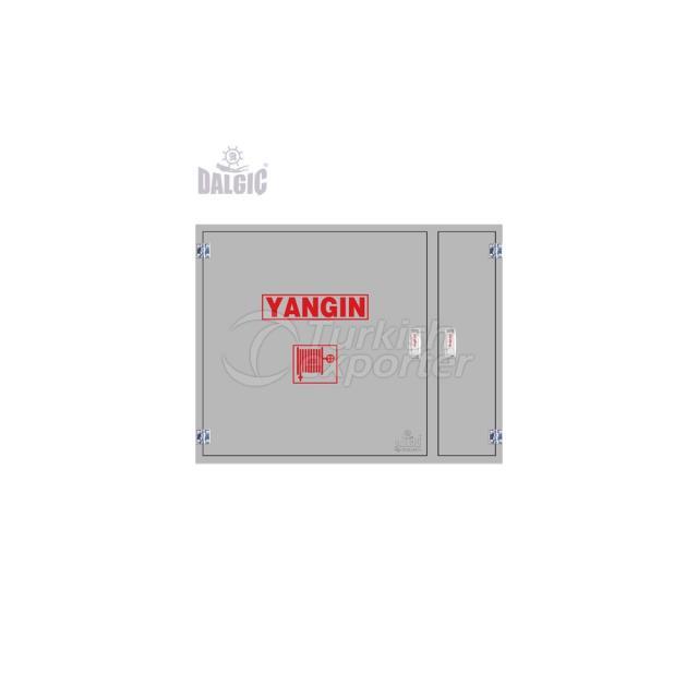Valve Sheet Cover Horizontal Tube Domestic Fire Cabinet EN671-2