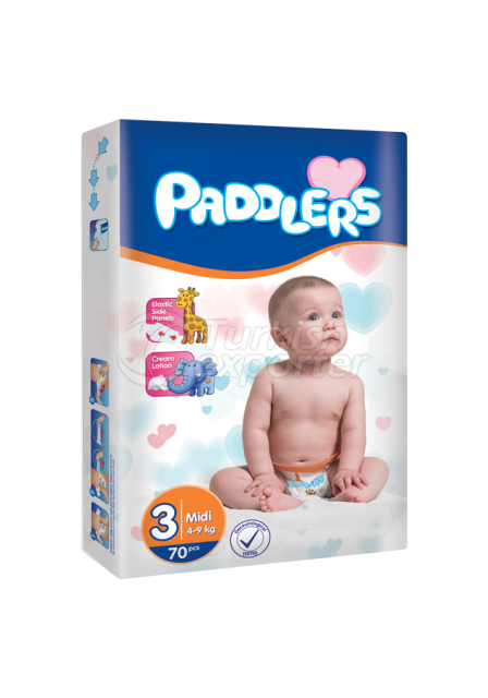 Baby Diapers Paddlers Midi