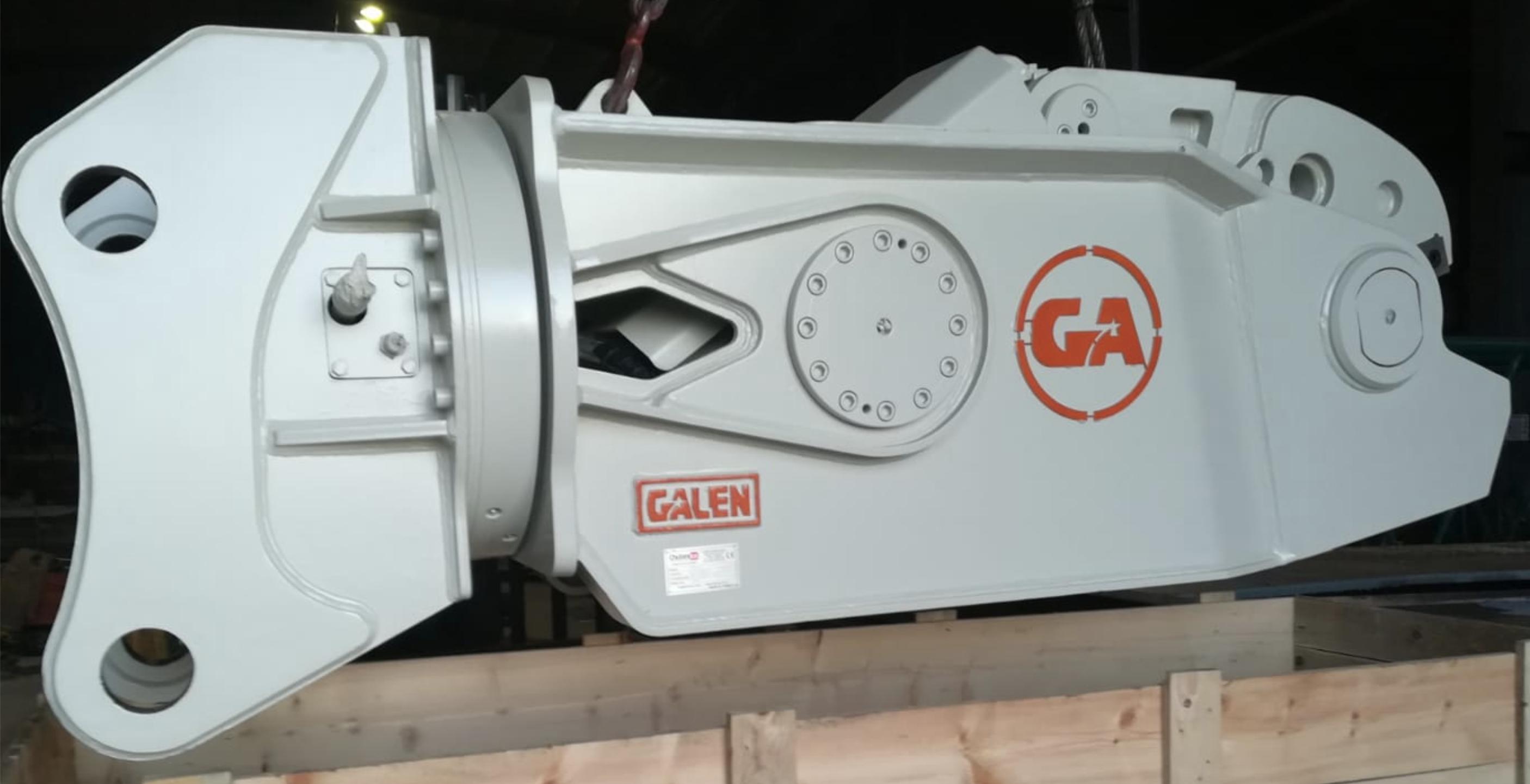 Rail Shear Attachment for Excavators