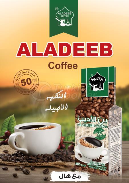 ALADEEB CAFÉ COM CARDAMOMO
