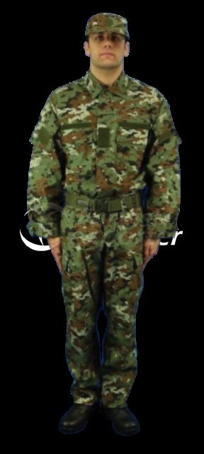 Macedonia Training Uniform