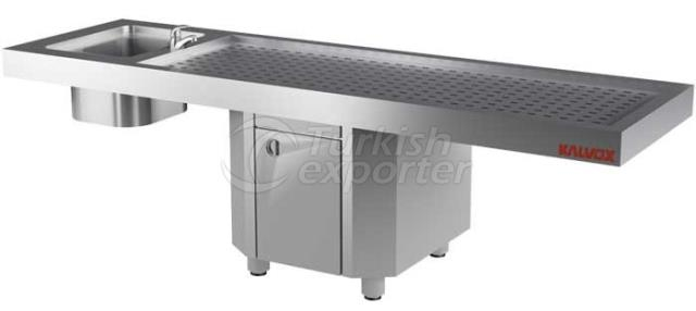 Autopsy and Gasil Table Morgue Unit