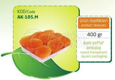 Sulphureous Dry Apricot AK 105 M 400gr