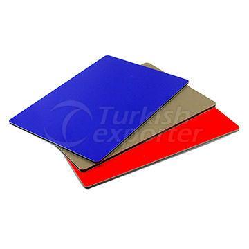 Fireproof aluminium composite panel