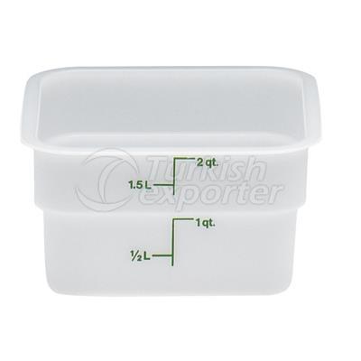 Polyethylene Storage Containers
