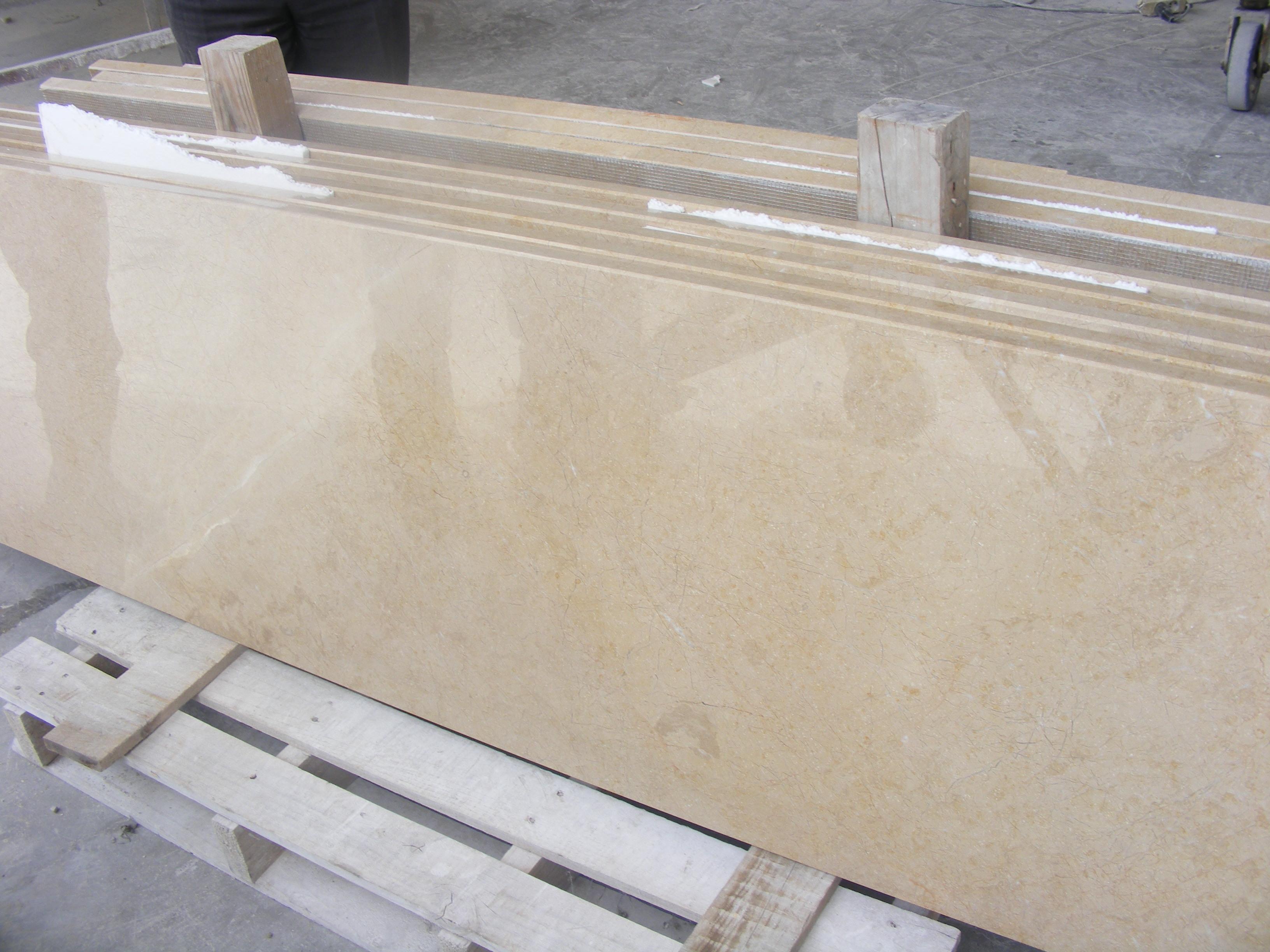 C. Cream Marble (Sand Beige)