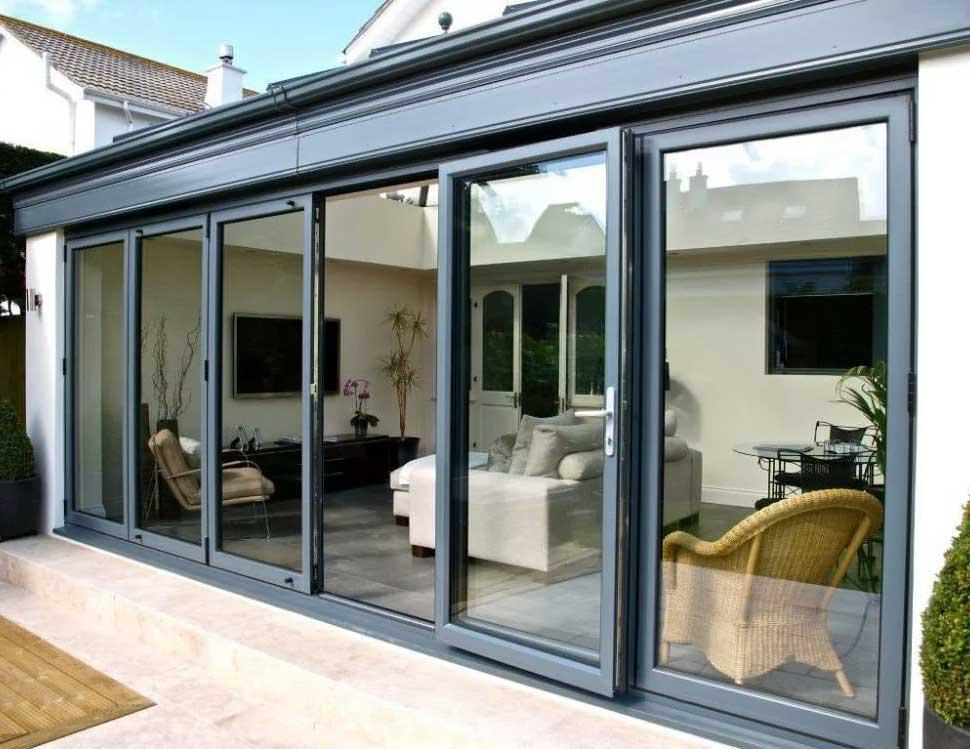 Алюминиевые столярные изделия для крыш и террас