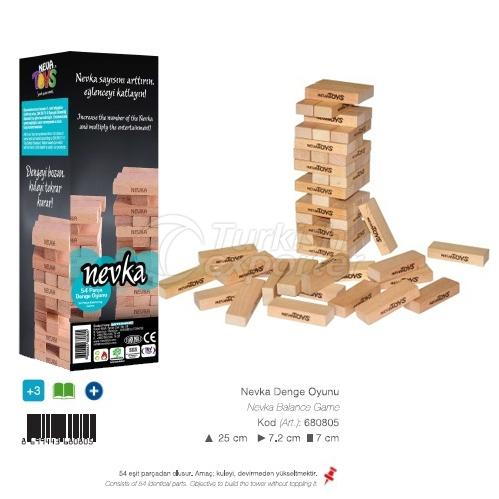 Wooden Balance Blocks NEVKA
