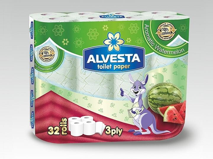 Toilet Paper Watermelon Flavor 32 Rolls
